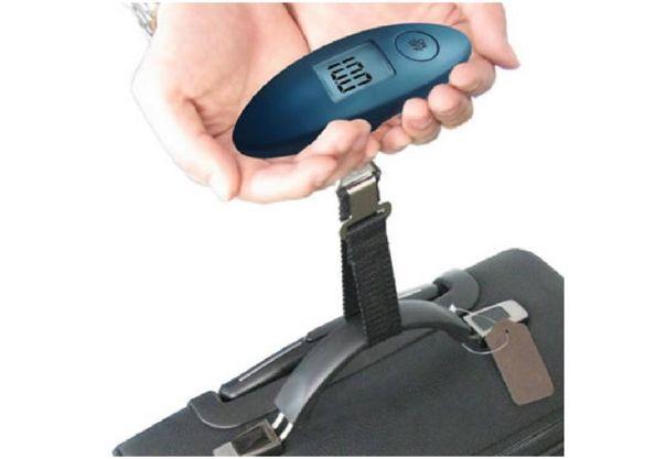Електронен кантар до 40 кг за багаж и за други нужди