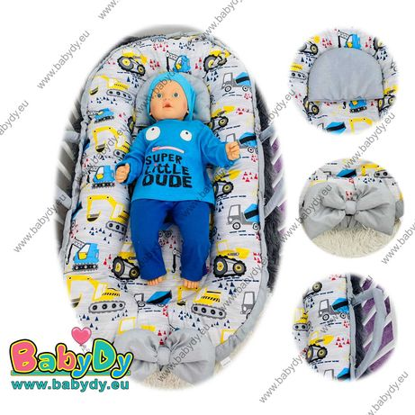 Бебешко гнездо Лукс 3 в 1