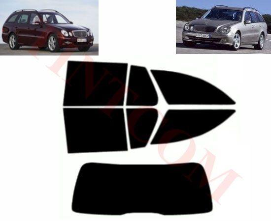 Mercedes E Class S211(5 вр,комби,03-09) Фолио за затъмняване на стъкла