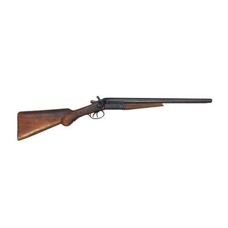 Скъсена ловна двуцевна пушка. Реплика носена от маршал шерифът Уайът Е