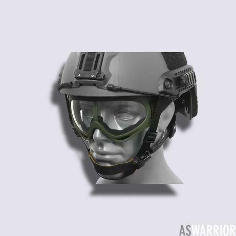 Еърсофт/Airsoft тактически очила, пълнители, карабинери, ластици