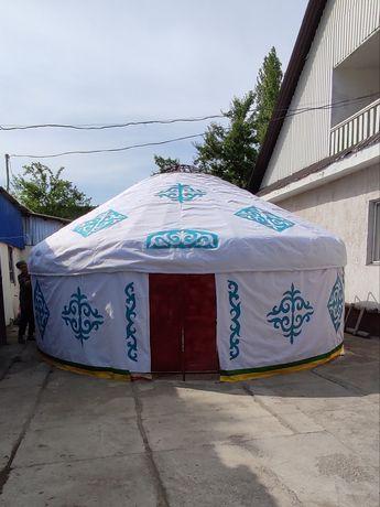 Юрта по индивидуальному заказу Қазақ Үй Кйіз Үй Полуюрта Палатка Казак