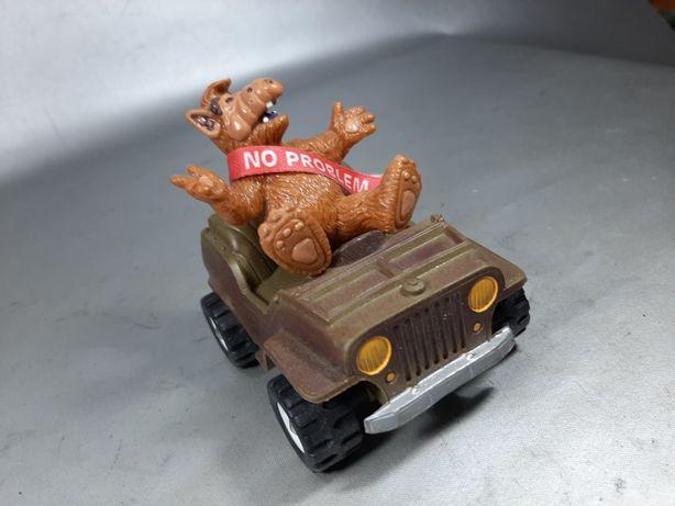 Alf jeep willys an 1978 macheta Bully West Germany de colecție