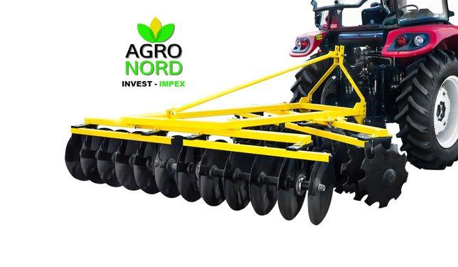 Disc agricol latime lucru 180 cm / 1.8 m Konig VVV-1.8