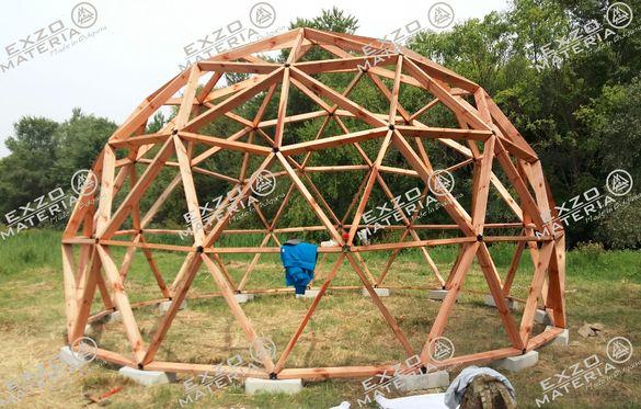 Куполна конструкция - Геодезичен Купол
