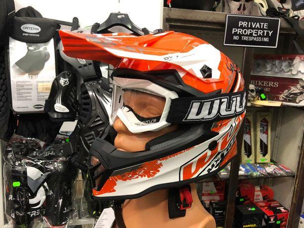 Casca cross atv copii Wulfsport Pro Helmet-si in rate prin Tbipay