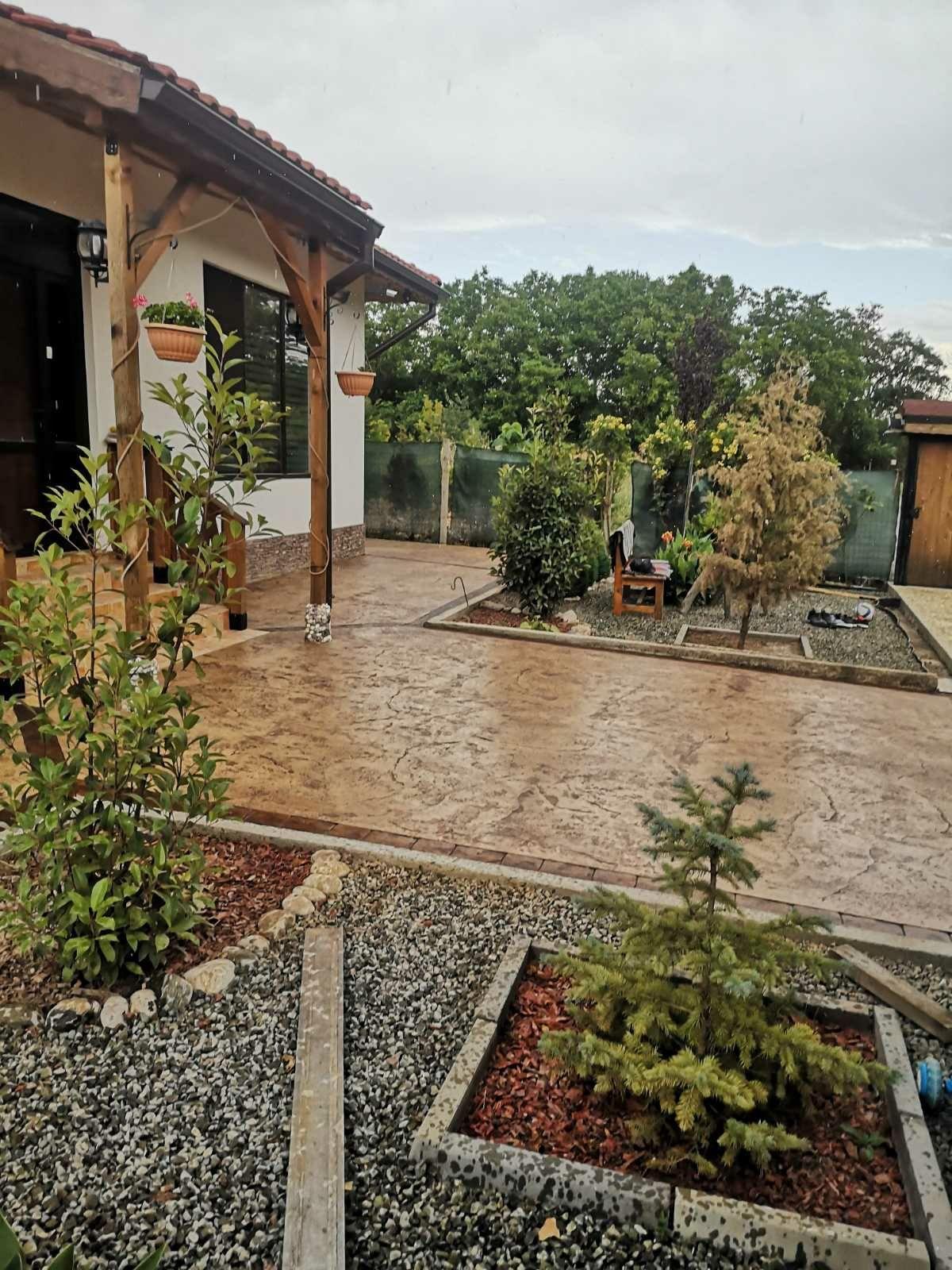 Щампован бетон и декоративни изделия