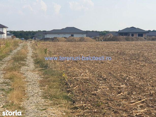 Vanzare teren Balotesti,zona spital SRI, 16000 EURO