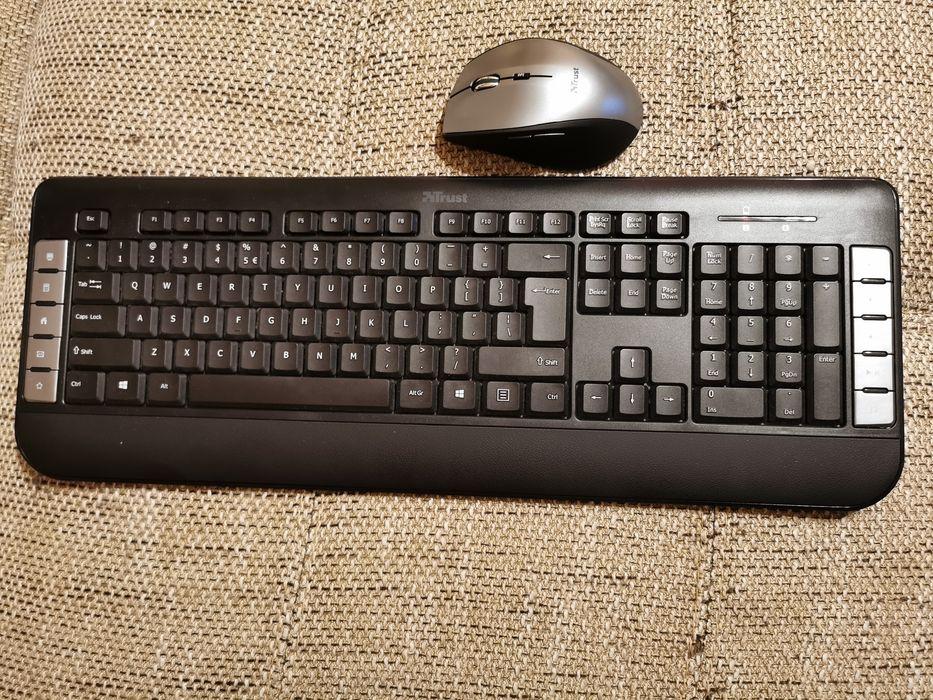 Tastatura și mouse wireless Trust Tecla