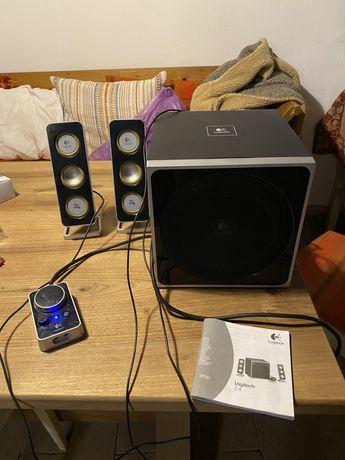 LOGITECH Z4 - Statie neagra - sistem audio