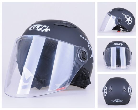 Каска для мопеда новая,мотошлем,шлем для скутера мопед самокат мотоцик