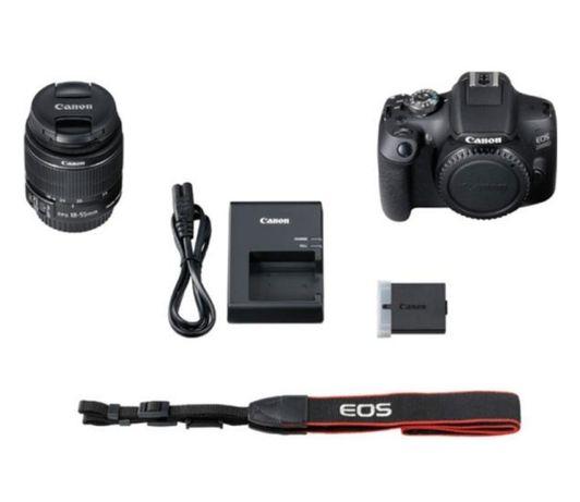 Фотоаппарат canon EOS  2000 D EF-S 18 -55