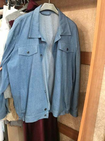 Мужские джинцывые куртки. 54-56
