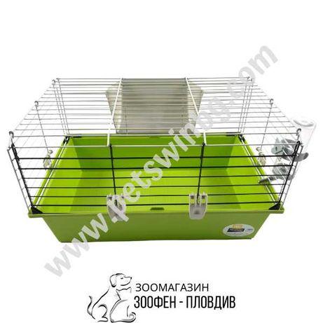 Ferplast Cage Cavie 60 - 58/38/31.5см - Клетка за Гризач/Морско Свинче