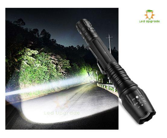 Lanterna reincarcabila portabila cu zoom reglabil