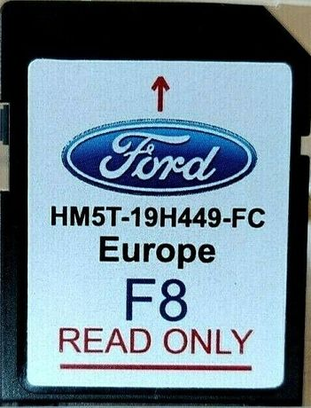 Ford F8 2020гд Navigation EUROPE Sd Card Map SYNC 2 Сд Карта Навигация