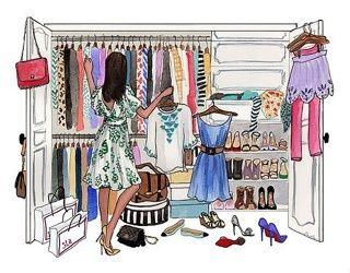Разгружаем гардероб!!!