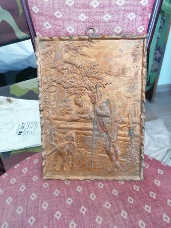 Tablou din bronz