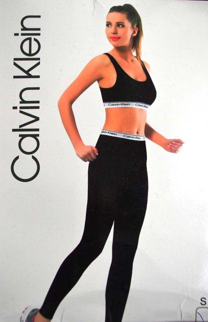 SET Compleu Calvin Klein CK Bustiera + Colanti Masura S