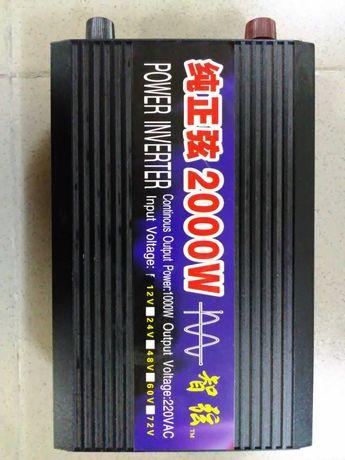 Инвертор 2000 Вт 12-220В