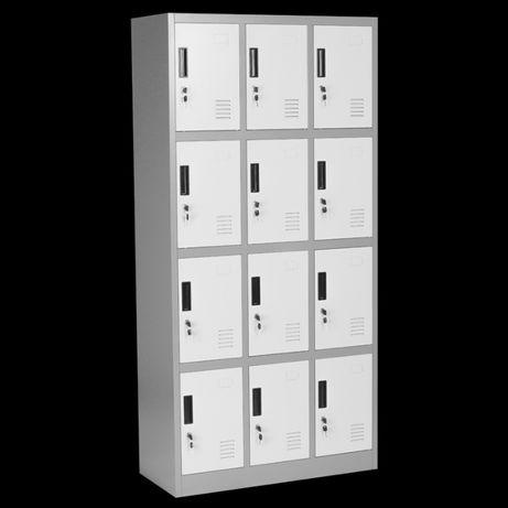 Метален шкаф с дванадесет врати цена с отстъпка 340 лв