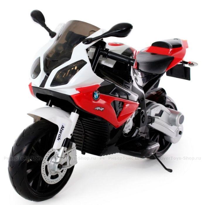 Motocicleta electrica pentru copii BMW S1000RR (JT528) Rosu Bucuresti - imagine 1