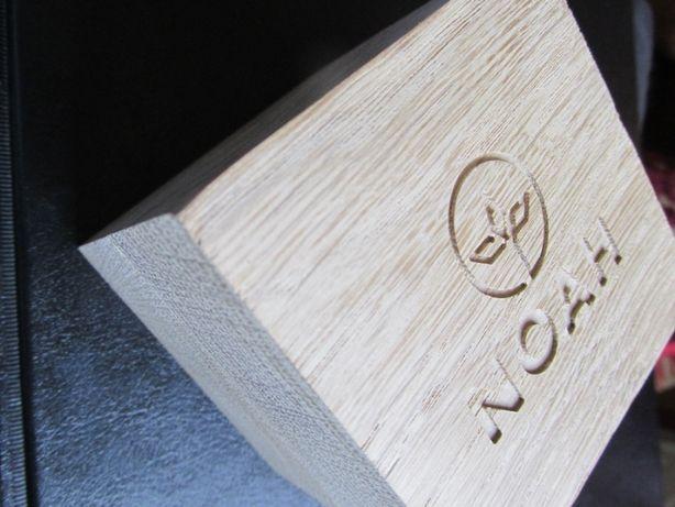Ceas din lemn NOAH - 45mm Hornbeam NOU + sigilat + acte si garantie