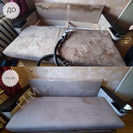 ЛУЧШИЕ ЦЕНЫ!химчистка мягкой мебели Чистка Дивана стулья и матрасов