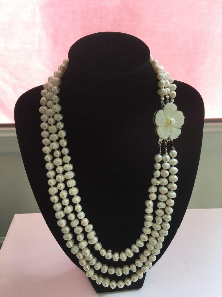 Colier perle naturale de cultură