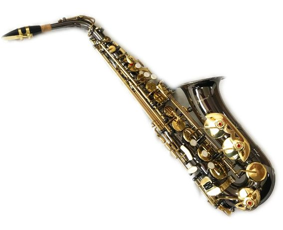 Saxofon ALTO Cherrystone Saxophone NEGRU & AURIU Mi bemol NOU