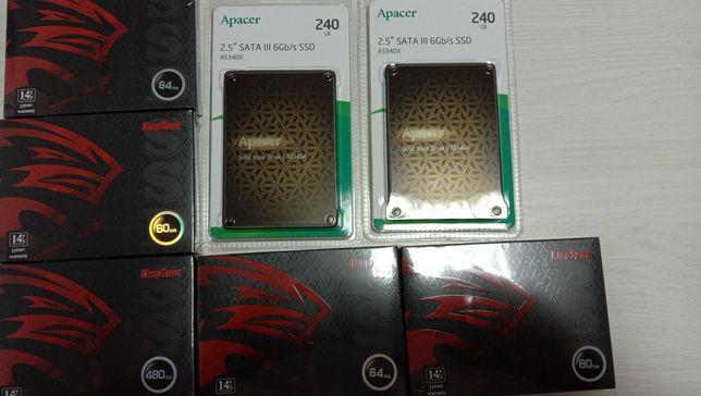 ШИРОКИЙ выбор SSD 60GB - 1TB в наличие и много другого