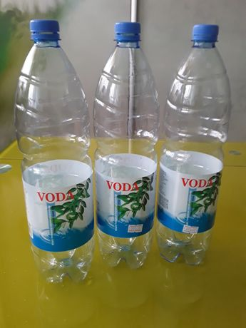 Пластиковые бутылки 1,5литра.