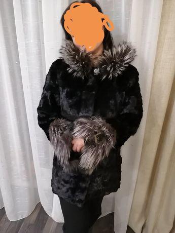 Шуба норковая кусковая, женская, 46 - 48