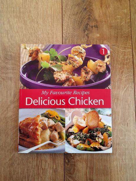 Carte cu rețete culinare cu pui - Delicious Chicken - engleza