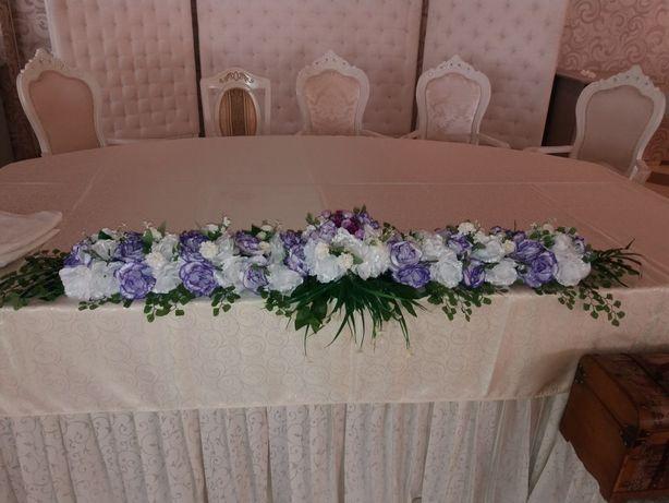 Aranjament din flori artificiale