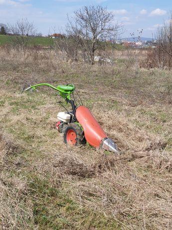 Cosesc iarba / curat teren