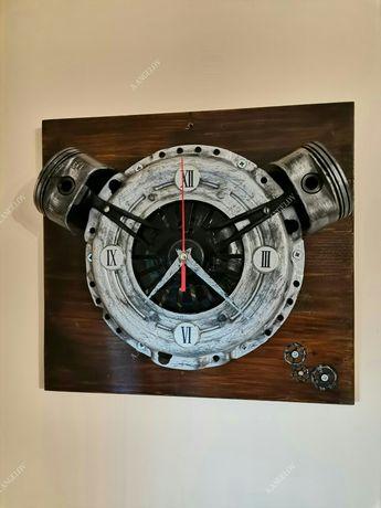 Стенен часовник от авточасти
