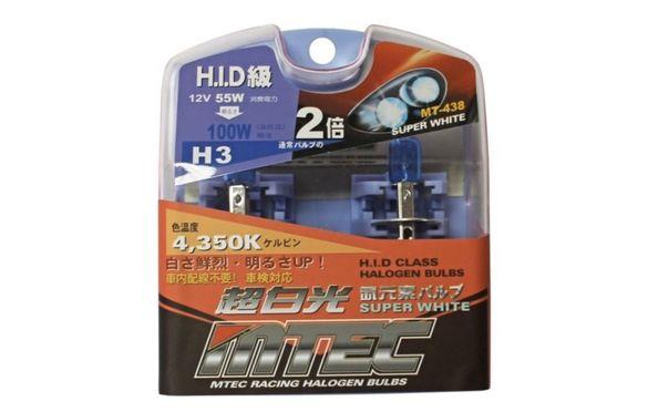H3 Оригинални Японски Автомобилни Крушки MTEC HID 55W - 100W 4350К