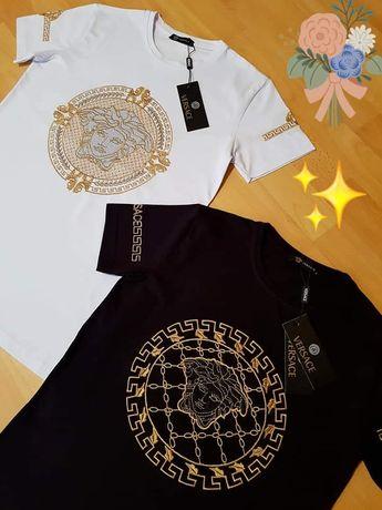 Tricouri Versace,logo brodat import Italia, diverse mărimi