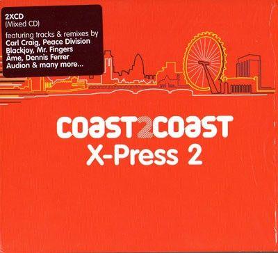 Dublu CD original sigilat Coast2Coast X-Press 2