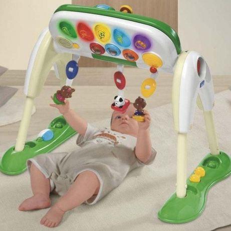 Chicco: детский развивающий музыкальный центр Delux  3 в 1