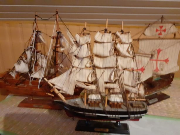 lot trei corabii celebre vintage