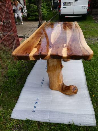 Masă lemn masiv nuc unicat