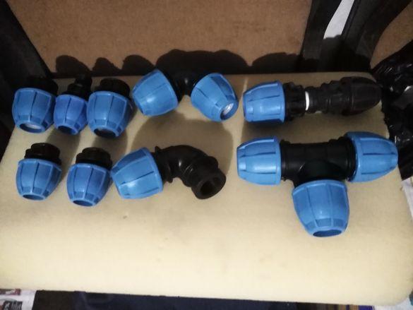 Връзки за маркучи и съеденители от пластмаса