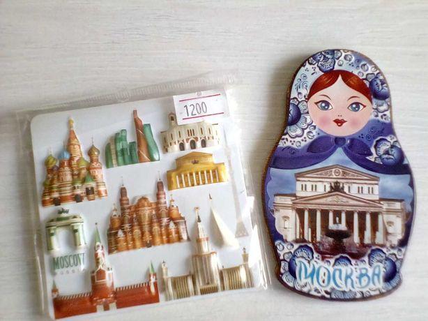 Сувениры-магниты, художественные, наклейки для скрапбукинга.
