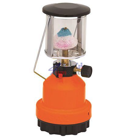 Газова къмпинг лампа (петромакс), без и с пиезо-запалка