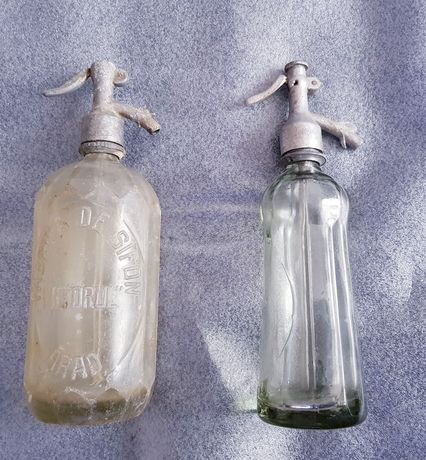 Sifoane vechi românești, marcaje Sticla Turda, Fabrica Sifoane Arad