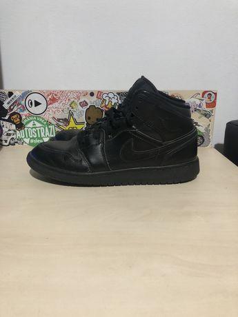 Jordan retro 1 black nike air marimea 38.5