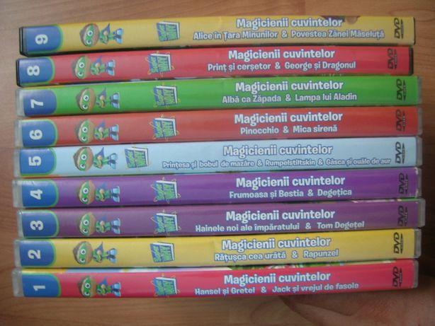 DVD-uri desene pentru copii engleza