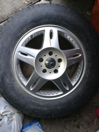 Шины и диски Mercedes